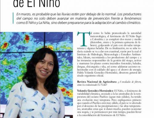 Continúa monitoreo de El Niño