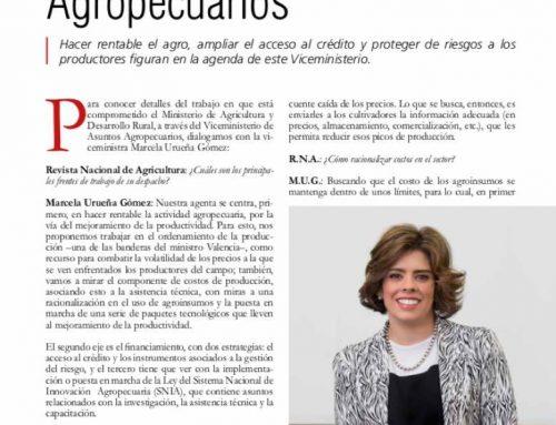 La agenda de Asuntos Agropecuarios