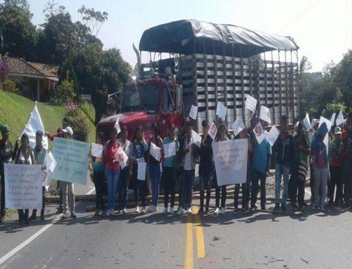 Pérdidas por bloqueos en el Cauca