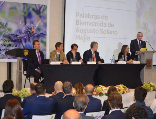 Asocolflores realiza su Asamblea de afilados con el presidente Duque