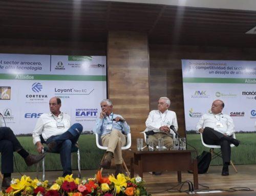Formación para la agricultura, conclusión del panel del Seminario Internacional de Arroz