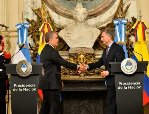 Colombia y Argentina firman acuerdos para fortalecer economías