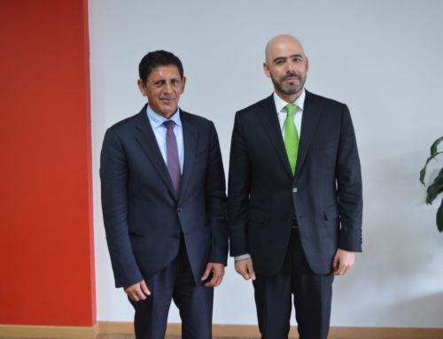 La SAC con el embajador de Emiratos Árabes Unidos