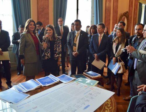 El sector agropecuario firma Pactos por el Crecimiento y la Generación de Empleo