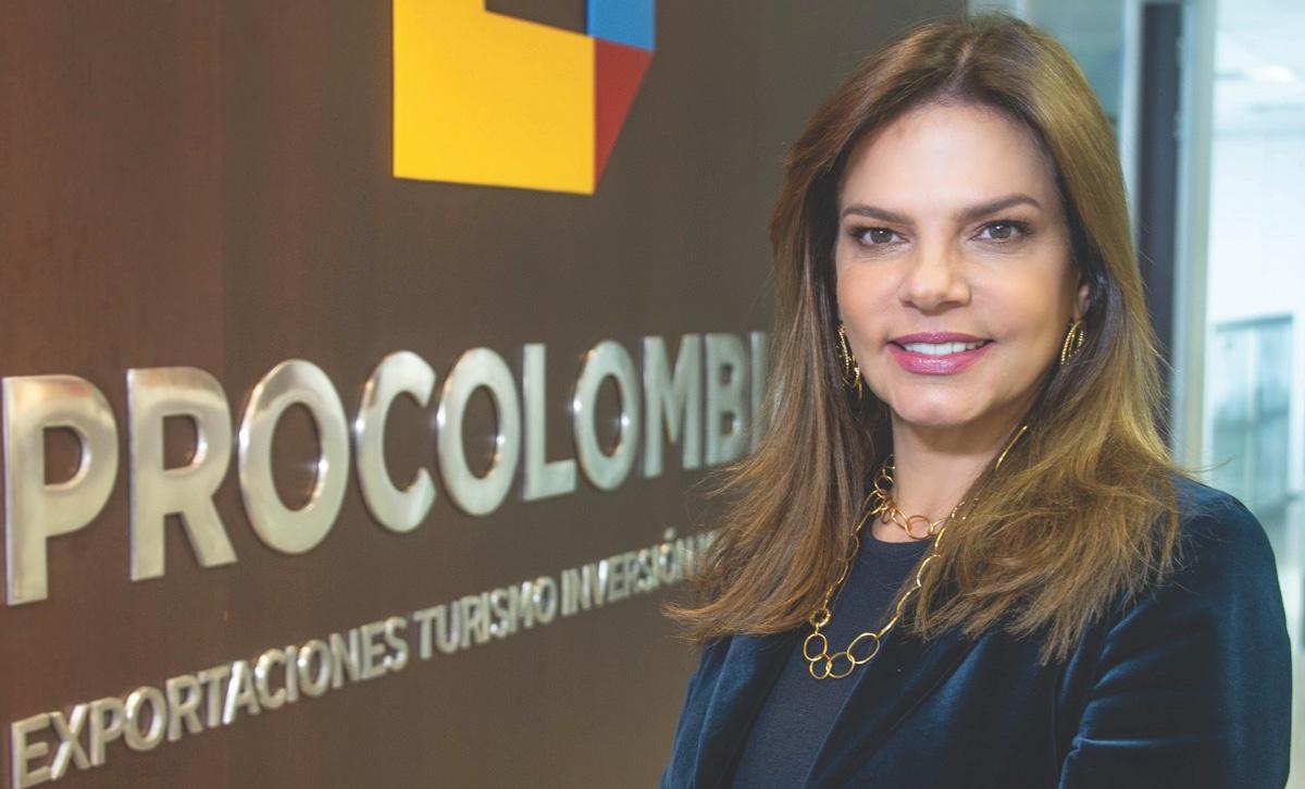 """La presidenta de ProColombia: """"Somos los ojos y los oídos de los empresarios en el mundo"""""""